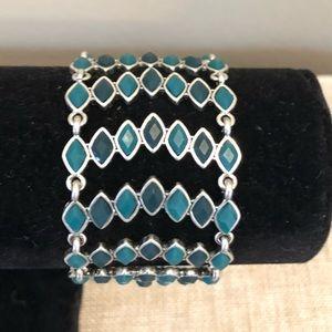 LUCKY Brand green/teal fashion bracelet